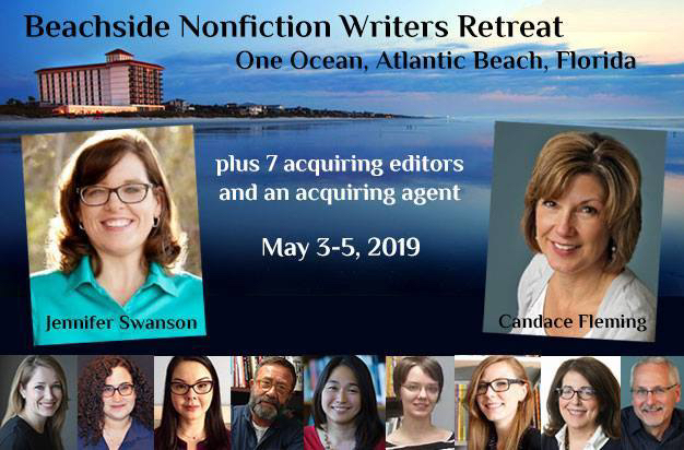 Beachside Nonfiction Workshop with Candace Fleming